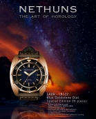 """NETHUNS LAVA BRONZE LB122 """"Night Sky"""" limited to 99 pieces."""