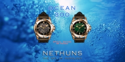 From the maker of Nethuns Bronzo and Nethuns Lava, we are bringing a new Divers choice, the Nethuns Ocean 300.